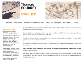 Photo du site de Thomas FOURREY