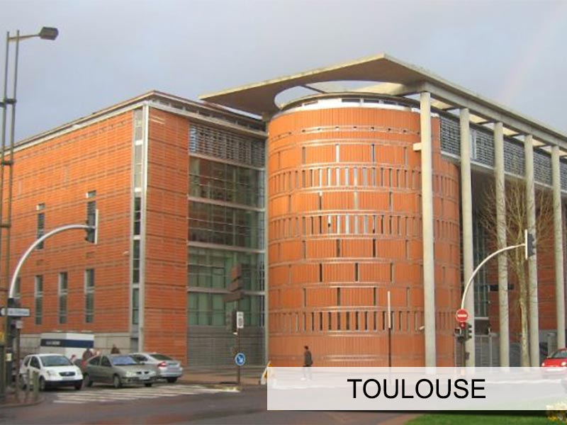 Photo du tribunal de toulouse